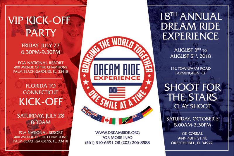 Dream Ride Experience Weekend VIP Kickoff Reception