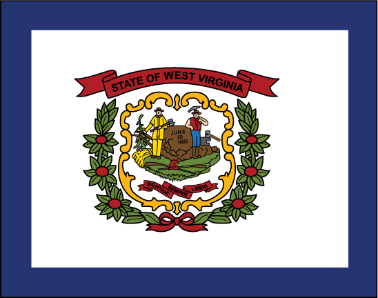 State of West Virginia Flag