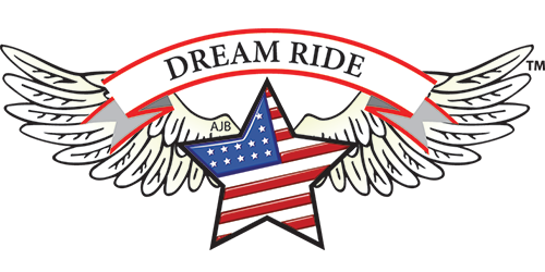 Dream Ride USA Flag Wings